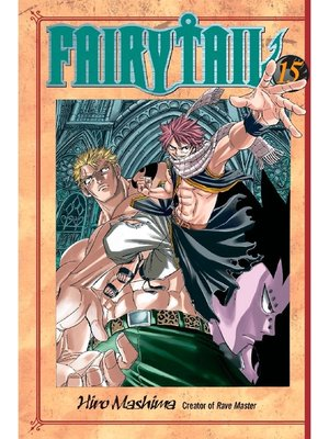 cover image of Fairy Tail, Volume 15